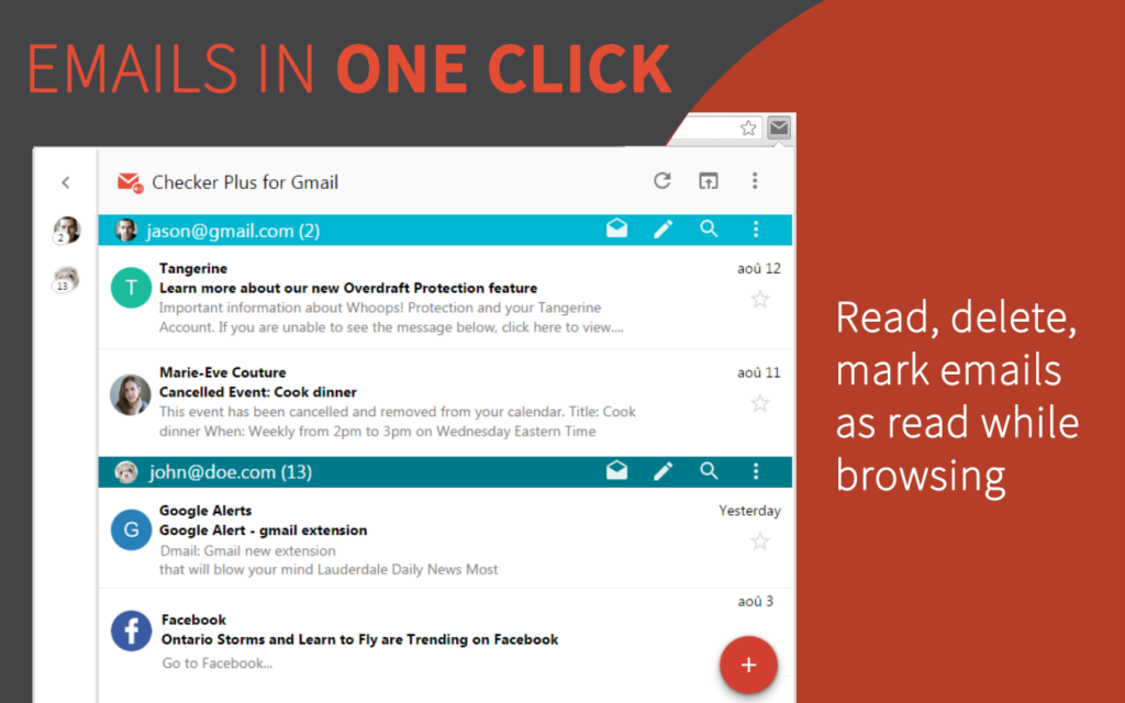 Checker Plus for Gmail Chrome Extension